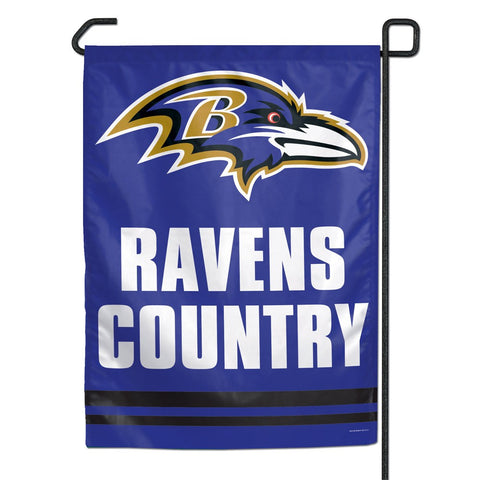 Ravens Country Garden Flag