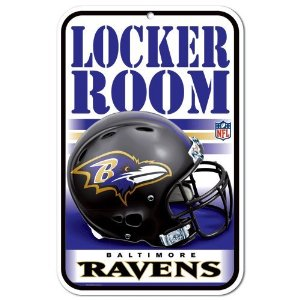 Ravens Locker Room Sign