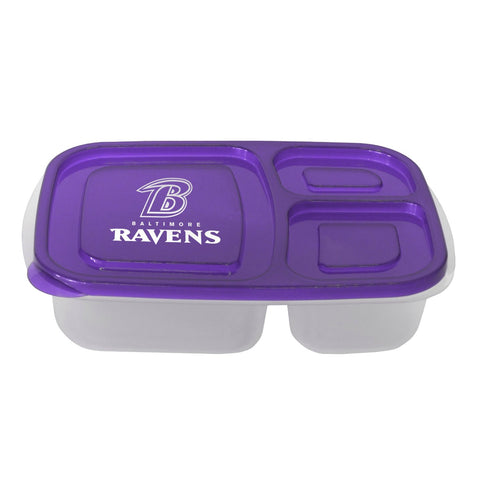 Baltimore Ravens 3-Compartment Lunch Container