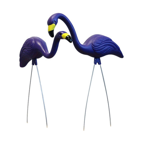 Baltimore Ravens Purple Flamingo