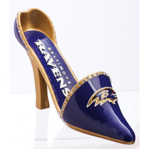 Baltimore Ravens Wine Shoe Bottle Holder