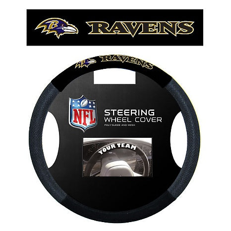 Ravens Steering Wheel Cover