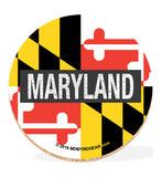 Maryland Coaster Set with Tin - Maryland - HomeGamers