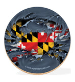Maryland Coaster Set with Tin - Crab - HomeGamers