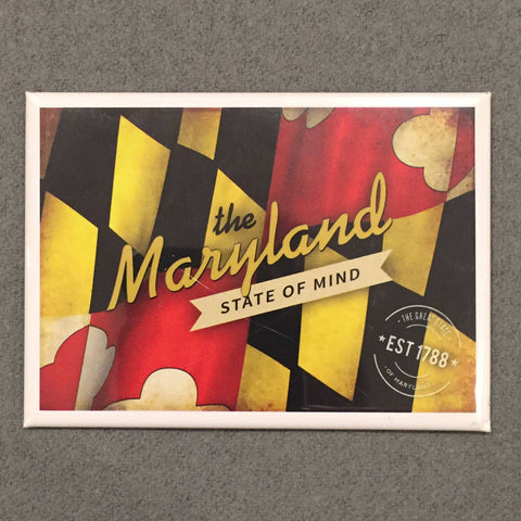 Maryland State of Mind Refrigerator Magnet
