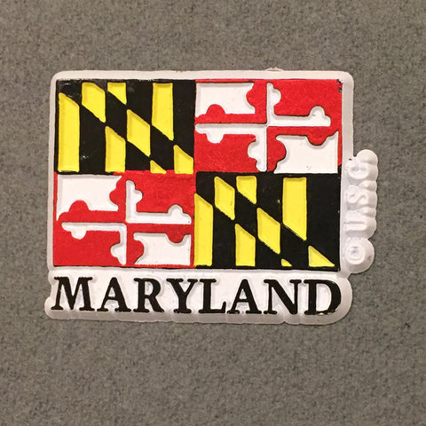 Maryland State Flag Magnet - HomeGamers