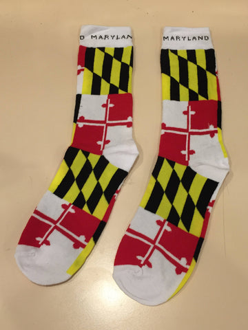 Maryland Flag Socks | Homegamers