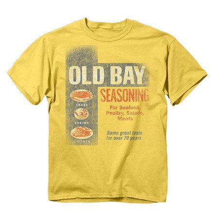 OLD BAY® Washed Can Art T-Shirt - HomeGamers