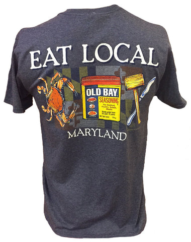 OLD BAY® Eat Local T-Shirt Back