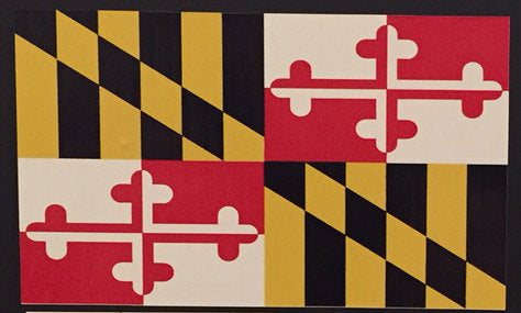 Maryland Flag Decal - HomeGamers