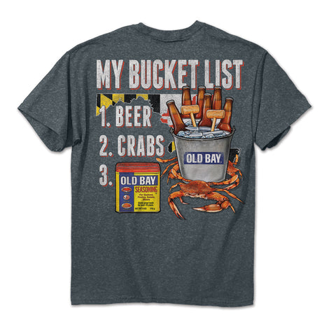 OLD BAY® Bucket List T-Shirt Back