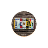OLD BAY® Coaster Set with Tin - License Plate - HomeGamers