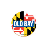 OLD BAY® Coaster Set with Tin - MD Flag - HomeGamers