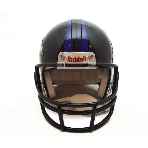 Ray Lewis - Autographed Super Bowl XLVII Mini Helmet