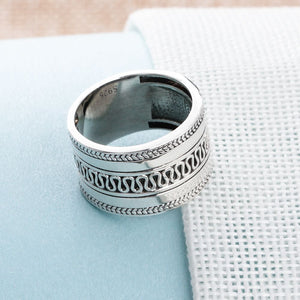 Ring Botafogo Law Silber