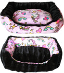 Reversible Bumper Dog Bed