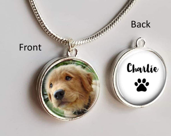Photo Necklace-Double Sided