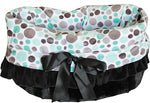Reversible Snuggle Bugs Pet Bed, Bag, and Car Seat All-in-One