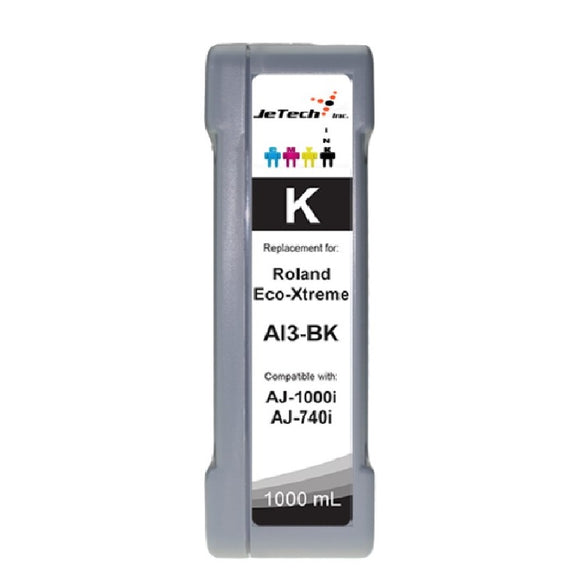 Roland Eco-Xtreme AI3-BK 1000mL Ink Cartridges Black