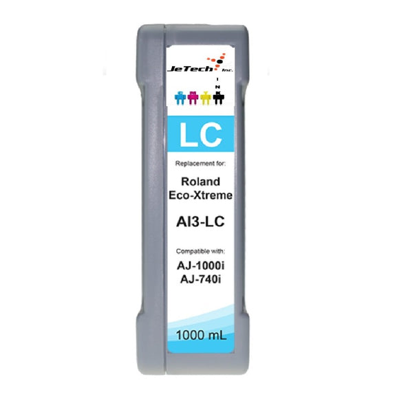 Roland Eco-Xtreme AI3-LC 1000mL Ink Cartridges Light Cyan