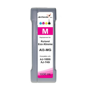 InXave Roland Eco-Xtreme AI3-MG 1000mL Ink Cartridges Magenta