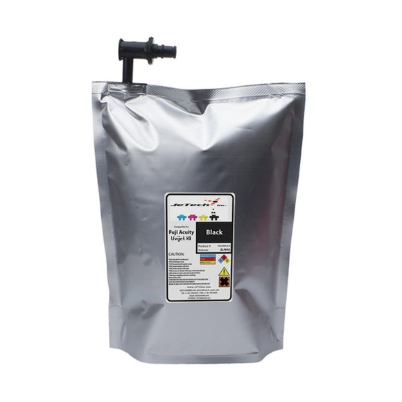 Fuji Acuity KI 2L UV ink bag KI-004 Black