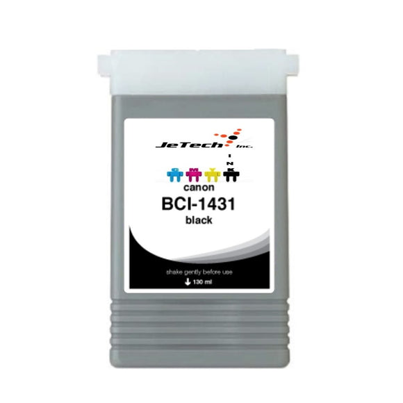 Canon BCI-1431BK Black 130mL Ink cartridge InXave