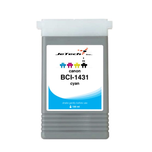 Canon BCI-1431C Cyan 130mL Ink cartridge InXave