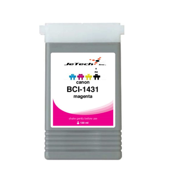 InXave Canon BCI-1431M Magenta 130mL Ink cartridge