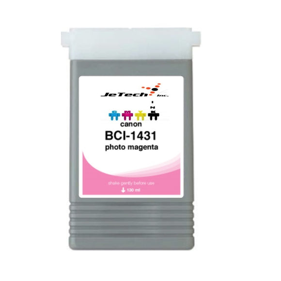 InXave Canon BCI-1431PM Photo Magenta 130mL Ink cartridge