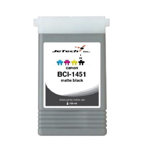 InXave Canon BCI-1451MBK Matte Black 130mL Ink cartridge