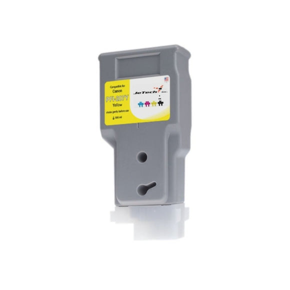 InXave Canon PFI-207Y 300ml ink cartridge Yellow