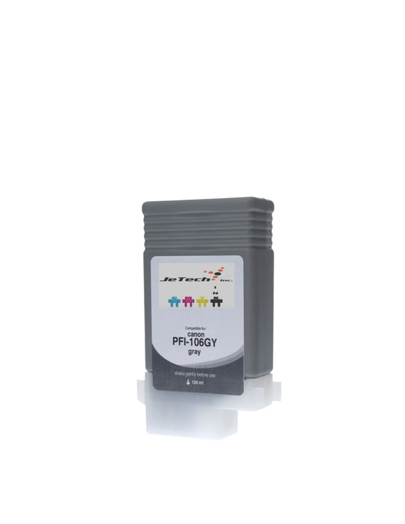 Canon PFI-106GY Gray 130mL Ink cartridge