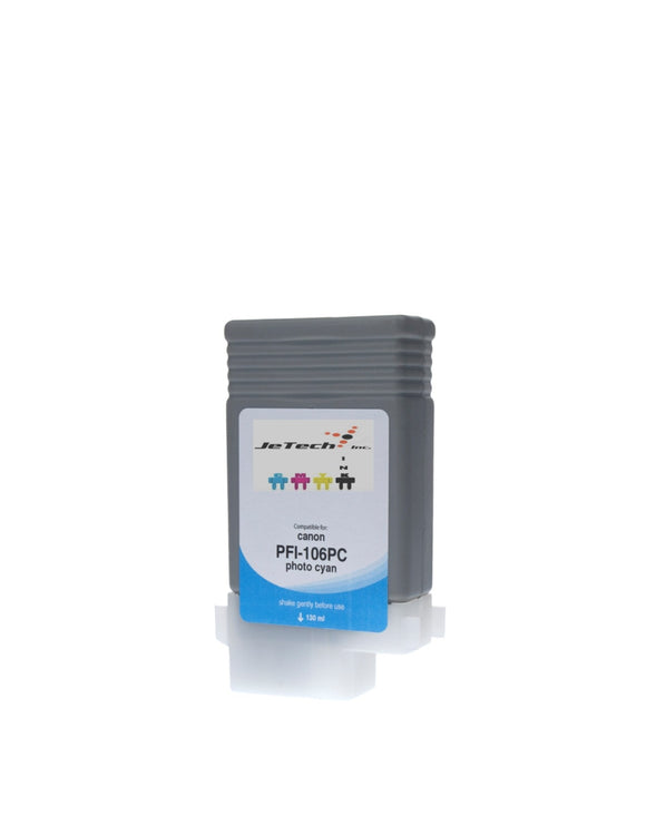 Canon PFI-106PC Photo Cyan 130mL Ink cartridge