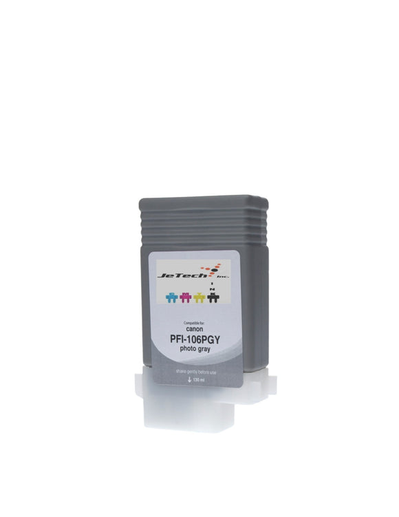 InXave Canon PFI-106PGY Photo Gray 130mL Ink cartridge