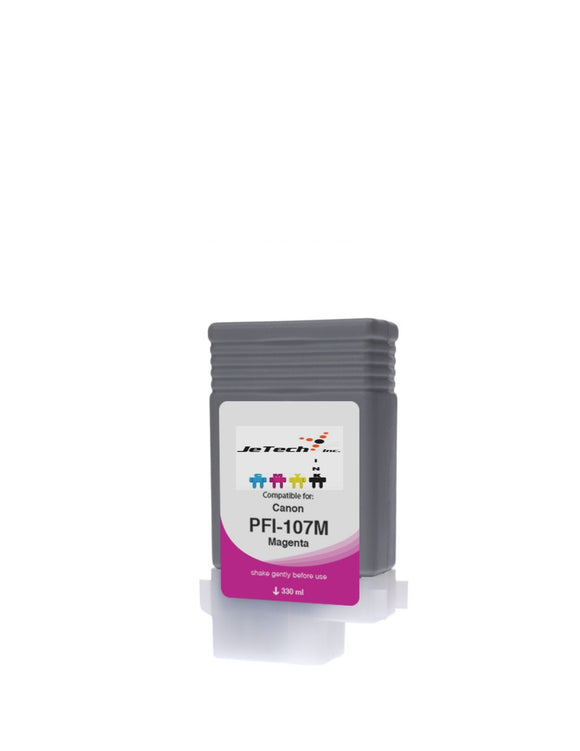 InXave Canon PFI-107M Magenta 130mL Ink cartridge