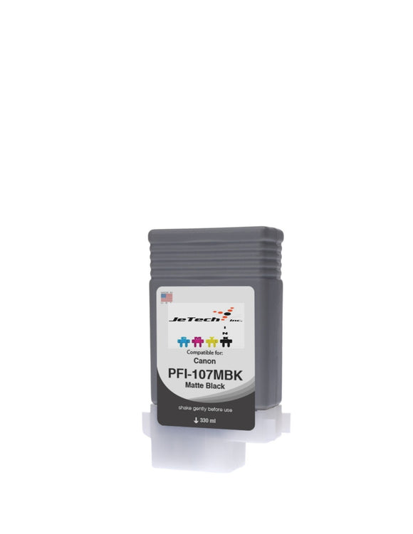 InXave Canon PFI-107MBK Matte Black 130mL Ink cartridge