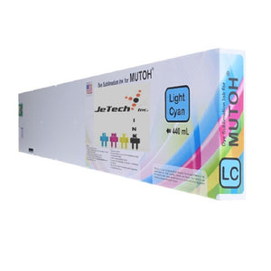 Mutoh* Dye Sublimation Compatible 440ml Ink Cartridge - Light Cyan