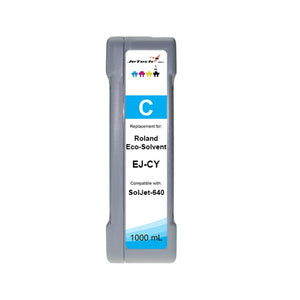Roland Eco-Solvent EJ-CY 1000mL Ink Cartridges Cyan