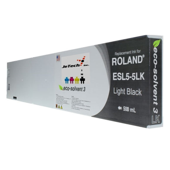 Roland ESL5-5LBK 500mL compatible ink cartridge Light Black