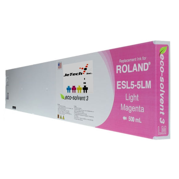 Roland ESL5-5LM 500mL compatible ink cartridge Light Magenta