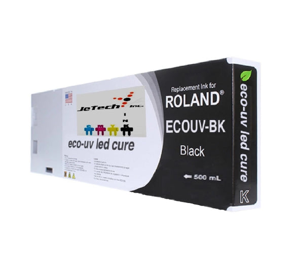 InXave Roland VersaUV Eco UV4 (EUV4) 500ml Black