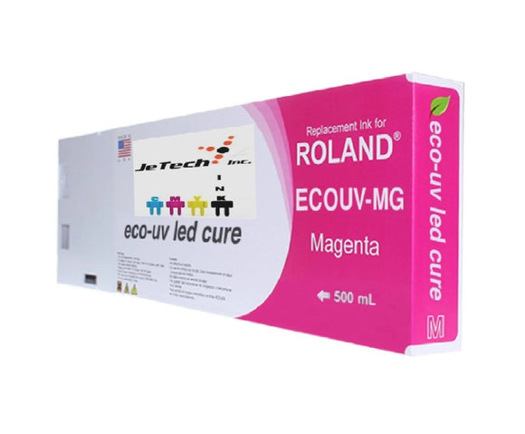 Roland VersaUV EcoUV4 EUV4 500ml Magenta Cartridge