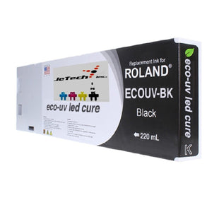 Roland Eco UV (EUV) 220ml Black