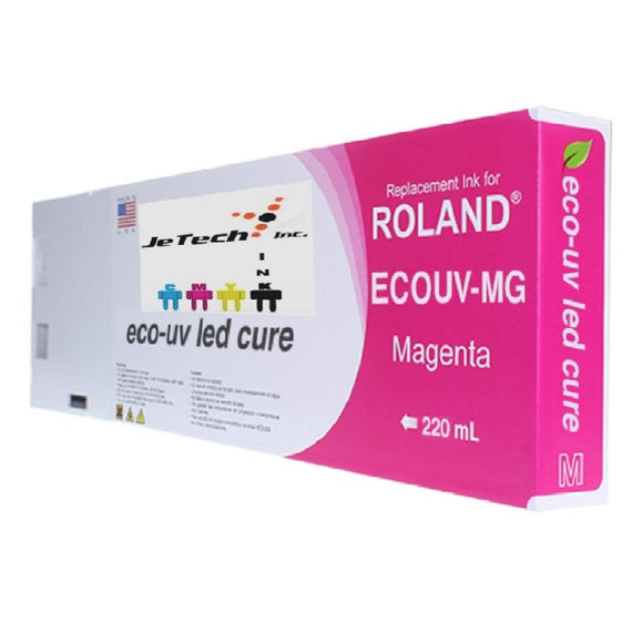 Roland Eco UV (EUV) 220ml Magenta