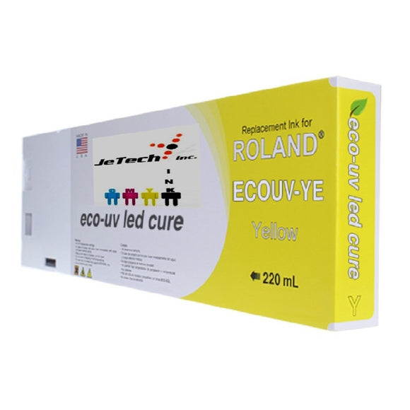 Roland Eco UV (EUV) 220ml Yellow