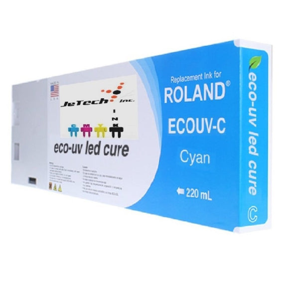 Roland Eco UV (EUV) 220ml Cyan