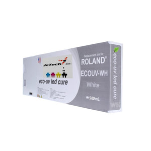 Roland VersaUV EcoUV4 EUV4 500ml White Cartridge