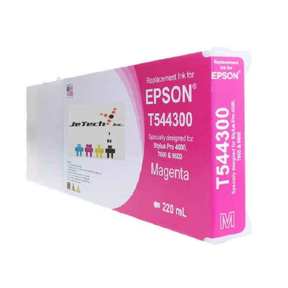 Epson* UltraChrome K2 T544300 220ml Magenta