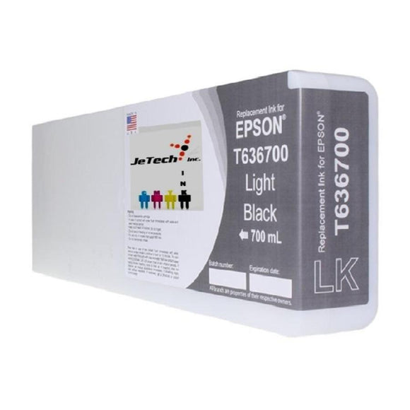Epson UltraChrome HDR T636 compatible 700ml Light Black
